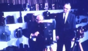 Herb Farmer accepts Sol Lesser Motion Picture Technology Collection 1968